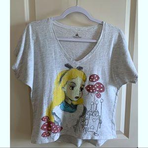 Disney Alice in Wonderland T-Shirt, Short Sleeve S